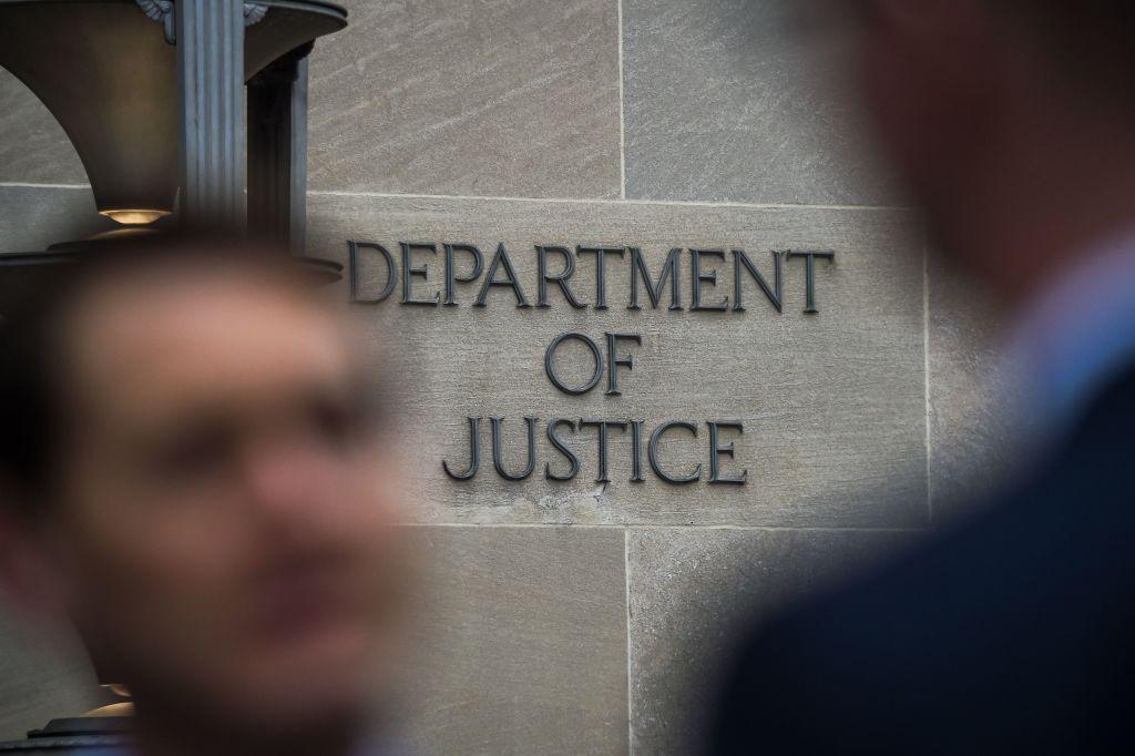 La sede del Departamento de Justicia en Washington