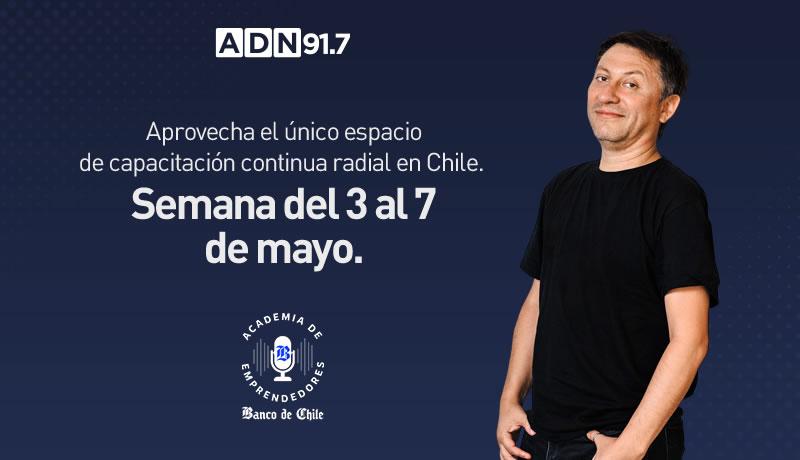 """Las finanzas y """"rocktitud"""" llegan esta semana a la Academia de Emprendedores Banco de Chile"""