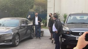Elecciones en Chile Vamos: Mario Desbordes llegó a la sede de Renovación Nacional
