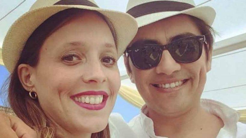 Votando en familia: la tierna postal de Maly Jorquiera y Sergio Freire junto a su hijo en las elecciones