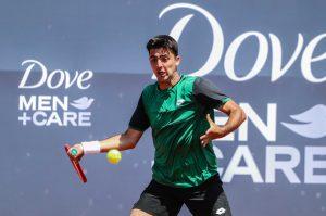Tomás Barrios no pudo con un inspirado Sebastián Báez y quedó eliminado del Challenger de Zagreb