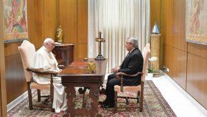 Presidente Alberto Fernández se reunió con el Papa Francisco en el Vaticano