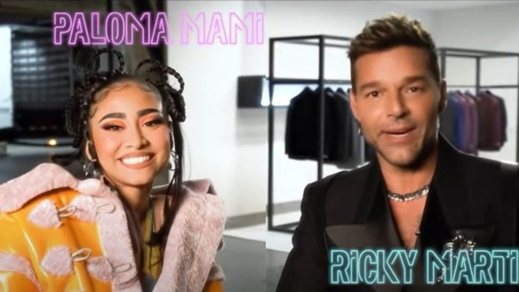 """Detrás de cámaras de """"Qué rico fuera"""": así fue la reacción de Paloma Mami tras conocer a Ricky Martin por primera vez"""
