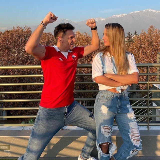 Rafael Olarra y su apuesta con Lucila Vit: Si Chile gana la Copa América, le pedirá matrimonio