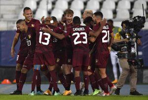 Venezuela le igualó en el último minuto a Ecuador en infartante partido por la Copa América