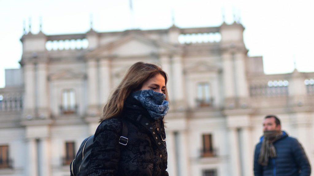 Temperaturas bajo cero se esperan para este lunes en la Región Metropolitana