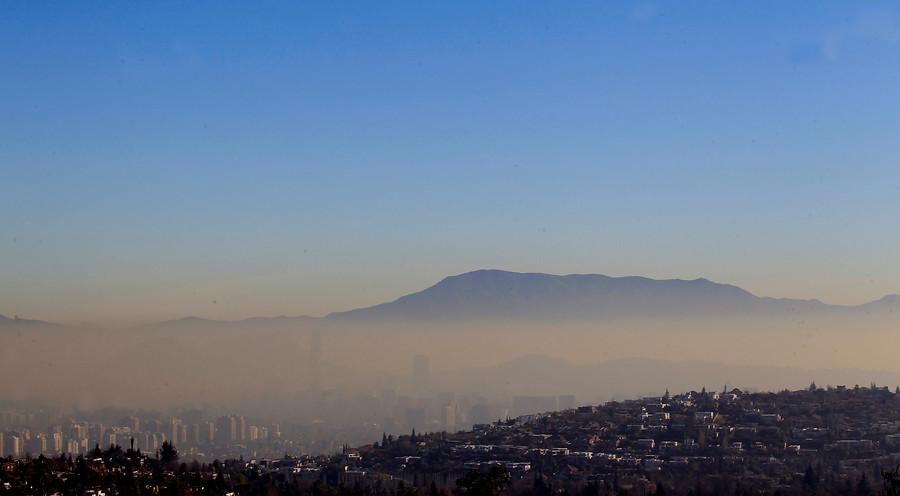 Se decreta la tercera preemergencia ambiental del año en la Región Metropolitana este lunes 21 de junio