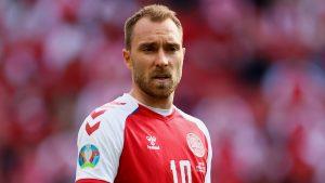 """Emotivo: UEFA eligió a Christian Eriksen como """"la estrella del partido"""" entre Dinamarca y Finlandia"""