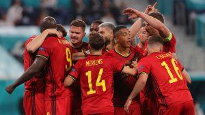 Bélgica dio cátedra de fútbol y se impuso ante Rusia en el inicio del Grupo B de la Eurocopa 2020