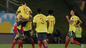 Colombia festejó ante Ecuador y sumó sus primeras tres unidades en Copa América 2021