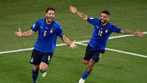 Italia superó con claridad a Suiza y avanzó a la siguiente fase de la Eurocopa 2020