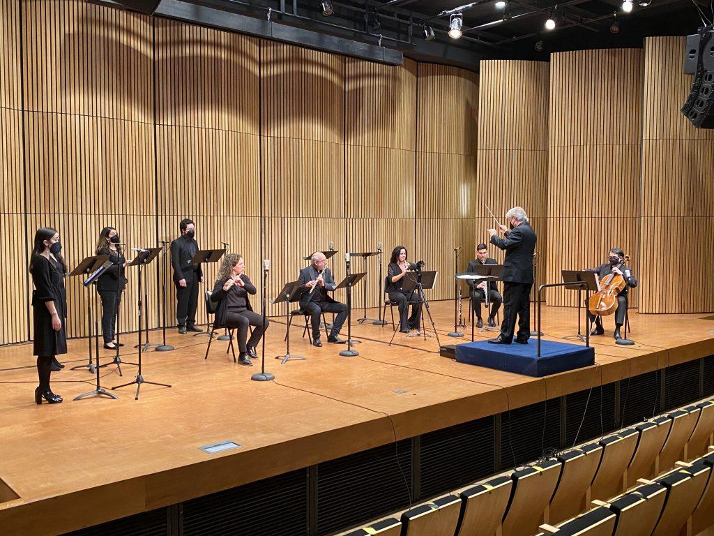 Francisco Rettig y músicos UC