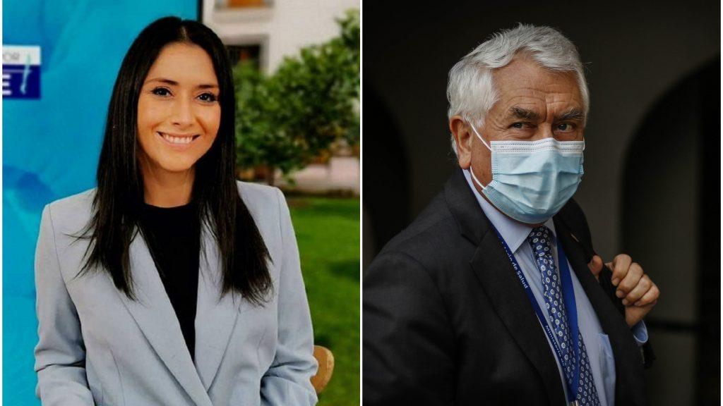 """""""¿Le llegó el brazo de reina?"""": Periodista de Mega explicó particular pregunta de ministro Paris"""