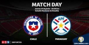 PREVIA | Chile cierra la fase grupal de Copa América enfrentando a Paraguay en Brasilia