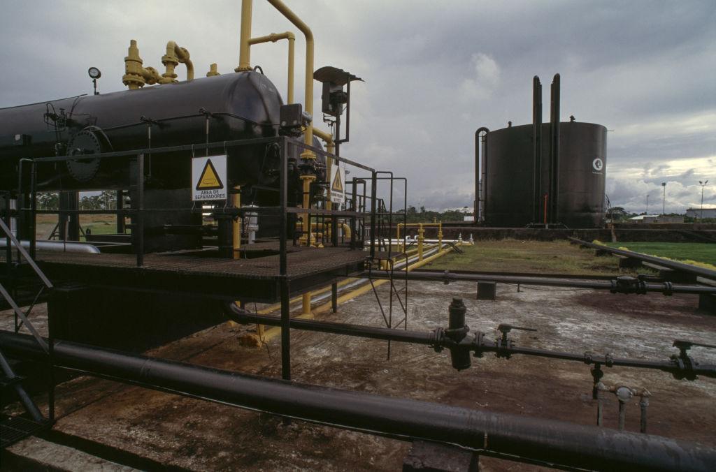 Un pozo de Petroecuador en el Amazonas