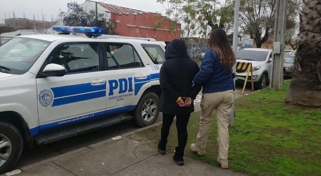 Molina: Decretaron prisión preventiva para mujer que habría agredido a su pareja con un cuchillo
