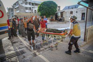 Al menos 16 personas fallecidas por ataque con misiles contra hospital en Siria