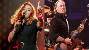Mon Laferte participará en disco tributo a Metallica junto a Elton John y otros artistas