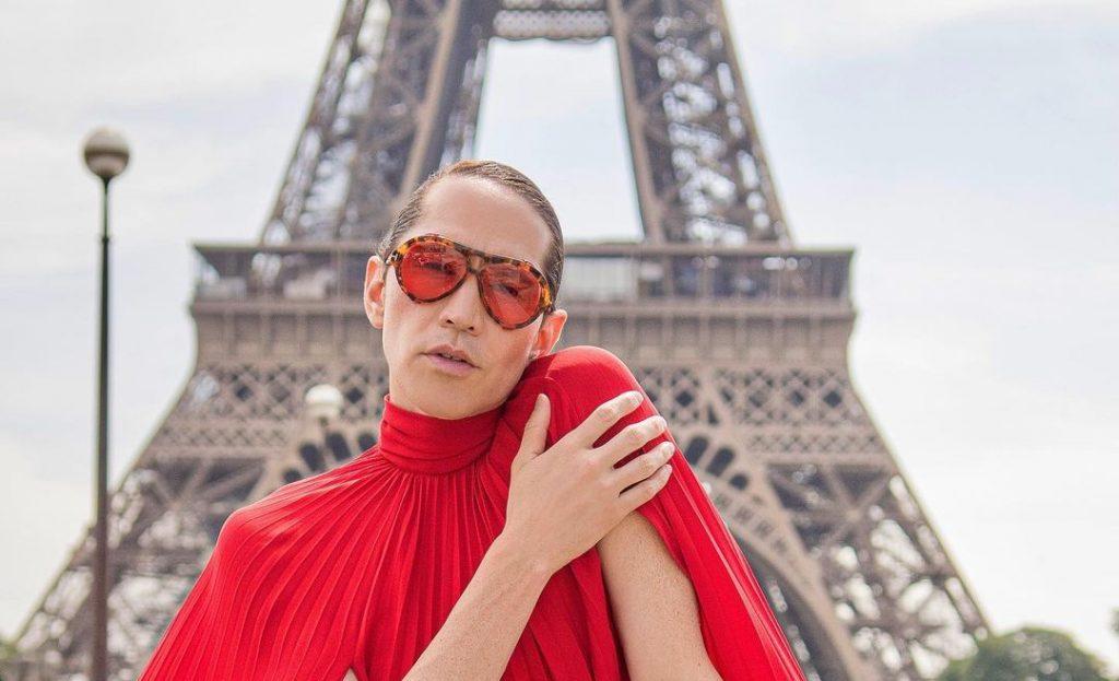 Di Mondo sigue impactando en Francia: publicó sesión de fotos a los pies de la Torre Eiffel