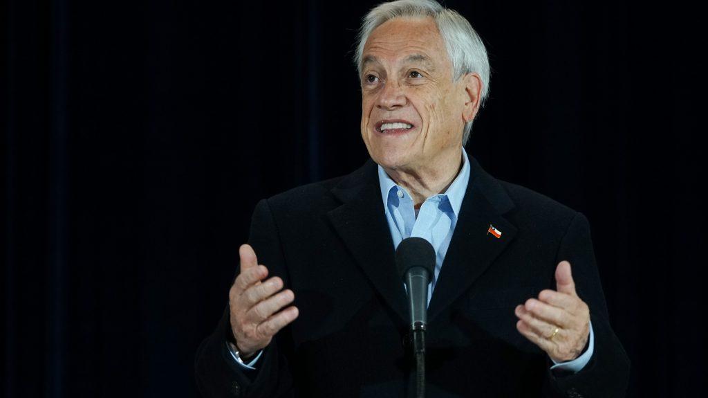 """Presidente Piñera: """"Estoy seguro que el candidato que elijamos hoy día en Chile Vamos va a estar en primera y segunda vuelta"""""""