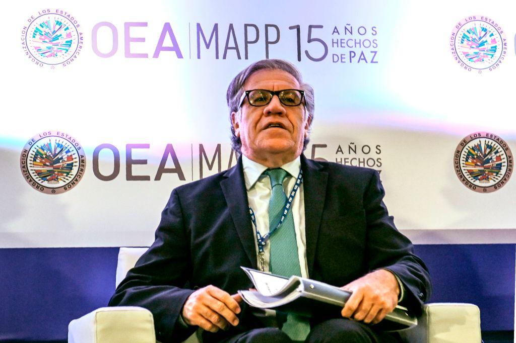 El actual titular de la OEA Luis Almagro