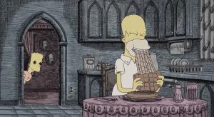 ¿Bart asesina a Los Simpson? Adelantan escalofriante 'corto' de Halloween de la temporada 33