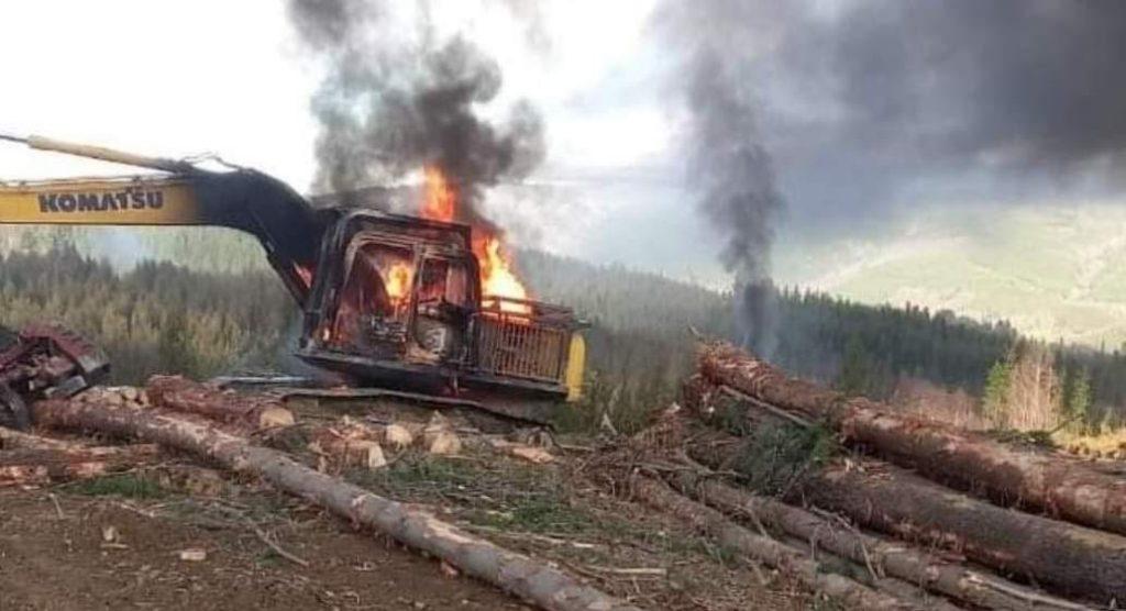 Resistencia Mapuche Lavkenche se adjudicó ataque en Curanilahue