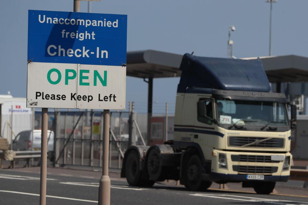 Zona de aduanas en Irlanda del Norte debido al acuerdo del Brexit