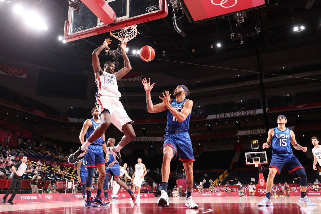 Francia sorprendió al mundo y venció a Estados Unidos en el básquetbol de los Juegos Olímpicos