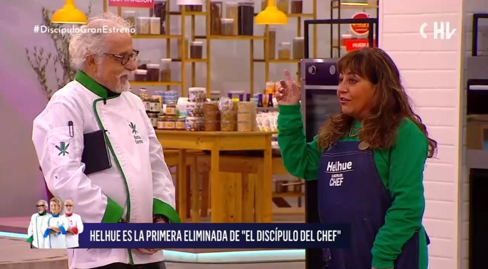 Helhue Sukni fue eliminada de El Discípulo del Chef tras sacar de quicio a Ennio Carota