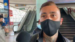 """Martín Rodríguez antes de emprender viaje a Turquía: """"Espero que me comprendan los hinchas colocolinos"""""""