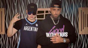 "Nicky Jam y Bizarrap causan furor tras ser ""pillados"" en España"