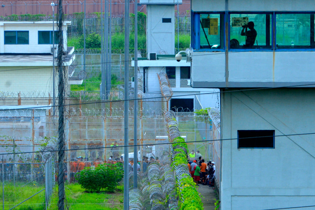 Imagen del interior de una prisión de la ciudad de Guayaquil