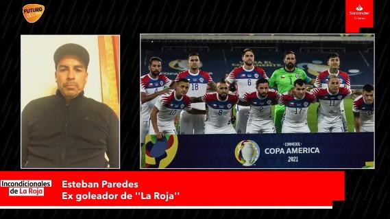 """Esteban Paredes: """"Ben Brereton puede ser el goleador de Chile"""""""