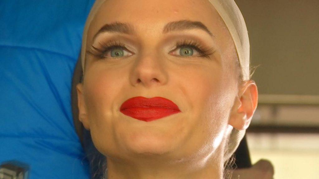 """Josefina """"Pin"""" Montané como Marilyn Monroe"""