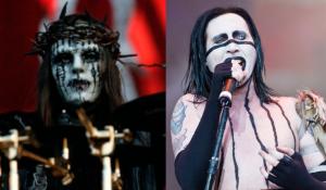 """El """"desconocido"""" cameo de Joey Jordison en un video de Marilyn Manson"""