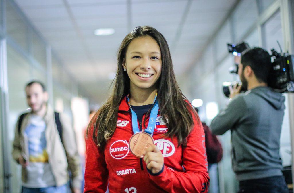 Mary Dee Vargas, la primera judoca chilena en los JJ.OO., va llena de ilusión a Japón