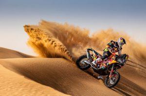 Para el Rally Dakar que viene ya está lista la nueva moto de KTM
