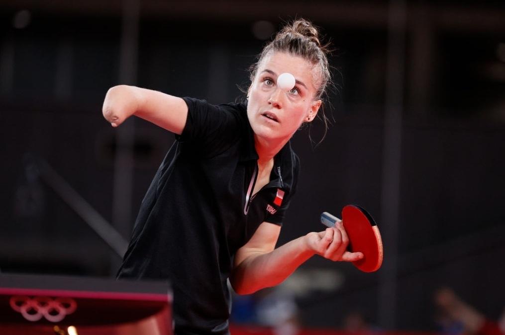 Natalia Partyka, la polaca del tenis de mesa paralímpico que también destaca en los JJ.OO.