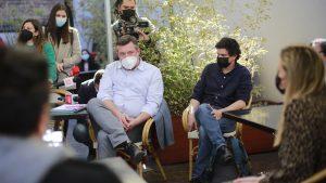 """Sichel se reunió con locatarios de Lastarria: """"Todo aquel que está a favor del indulto está banalizando la discusión sobre la violencia"""""""