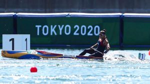 María José Mailliard terminó segunda en la Final B del Canotaje C1 200 de Tokio 2020 y finalizó en el décimo puesto de la general