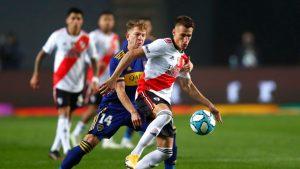 Paulo Díaz fue titular en derrota de River Plate sobre Boca Juniors por la Copa Argentina 2021
