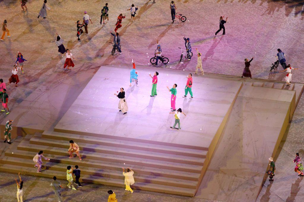 Baile Ceremonia Clausura Tokio 2020