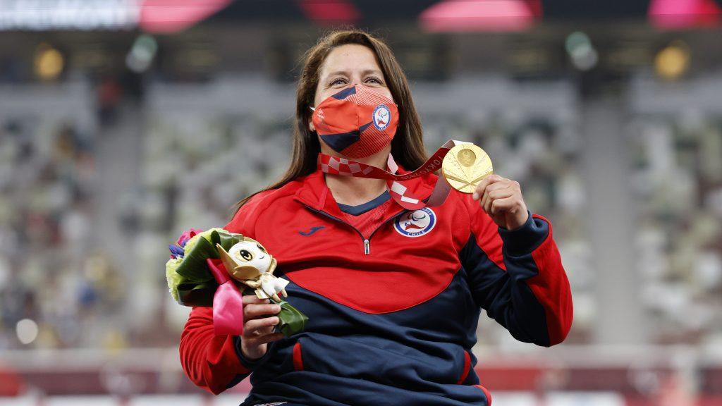 """Francisca Mardones tras el oro y récord mundial en Tokio 2020: """"Es realmente un sueño cumplido"""""""
