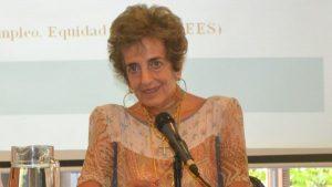 Murió María Ester Feres, exdirectora del Trabajo y reconocida figura sindicalista