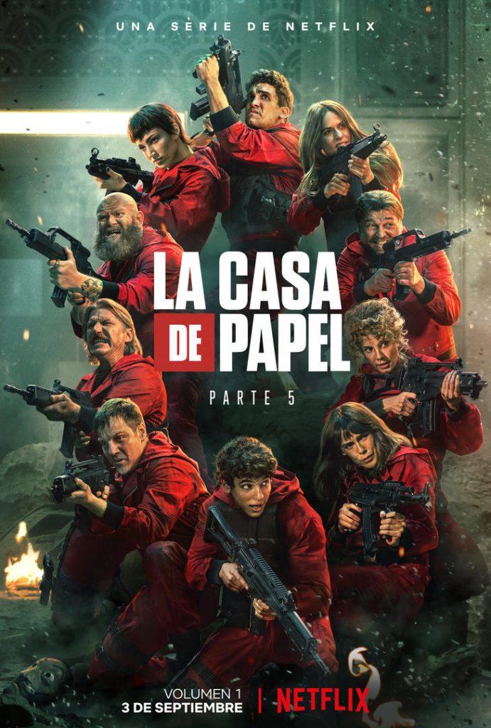 Poster tráiler de La Casa de Papel | Netflix