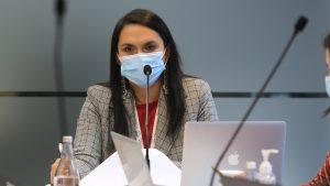 Rosa Catrileo confirmó que es el segundo caso positivo de covid-19 en la Convención Constitucional
