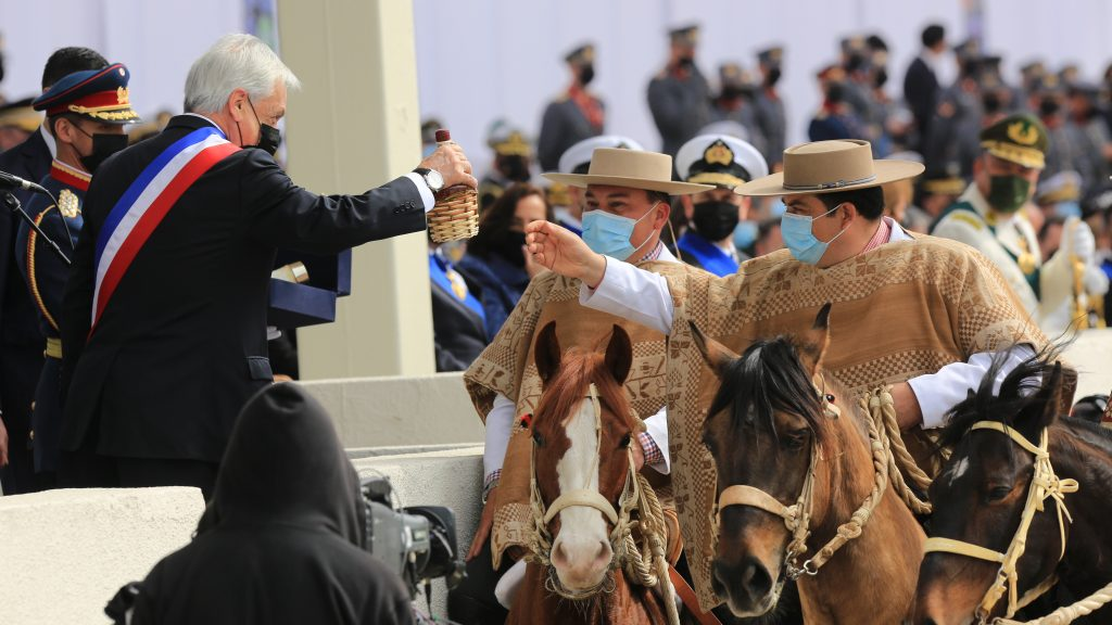 Parada Militar no tuvo degustación de chicha en cacho debido a las restricciones sanitarias
