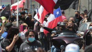 Miles de personas marcharon en Iquique en contra de la inmigración irregular