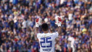 """Johnny Herrera confía en la victoria de la U ante Colo Colo: """"Con optimismo y fe"""""""